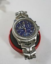 TAG HEUER LINK 200M CHRONOGRAPH  CT1110-0  MENS / photo proof to show its real.