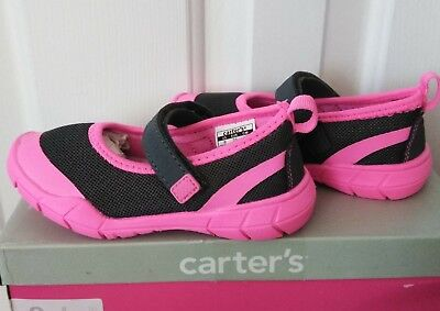 Carter/'s Funky2 Girls Mary Jane Shoes Size 5 6 7 8 9 Lightweight Pink Gray New