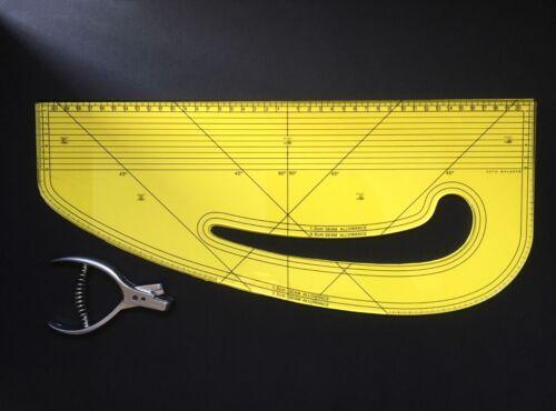 Patrón Maker-Moda Master-Acrílico Despuntadora-Diseño-cirugía ®