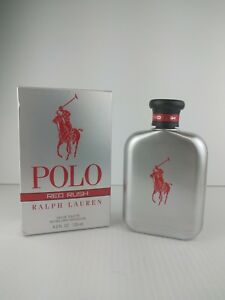NEW POLO RED RUSH Ralph Lauren Men Cologne 4.2 OZ EDT Spray NEW IN ... 9feca0d4b3674