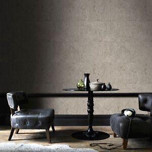 Boutique Taupe Koruku Textured Plain Luxury Wallpaper
