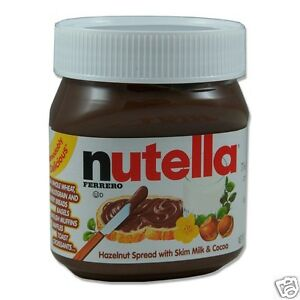 big jar chocolate hazelnut spread ferrero nutella spread 1kg
