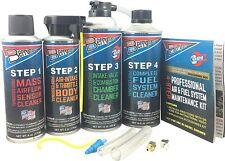 Berryman 4-Steps Professional Engine Air & Fuel System Cleaner Maintenance Kit