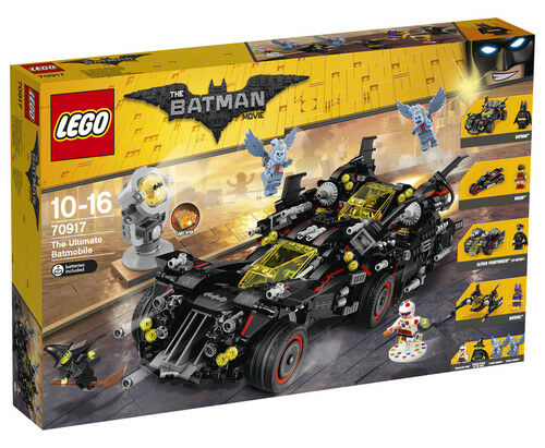 LEGO The Ultimate Batmobile The LEGO Batman Movie 70917 Brand New Sealed