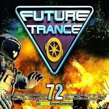 FUTURE TRANCE 72 - DAVID GUETTA/LOST FREQUENCIES/MARTIN GARRIX/+  3 CD NEU