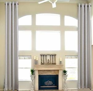 High Ceiling Custom Made Curtain