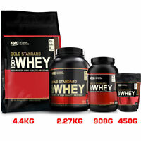 Optimum Nutrition On 100% Gold Standard Whey Protein Pure 908g / 2.27kg / 4.5kg