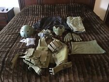 airsoft gear lot, Used, OD Green includes Lancer Tactical And More