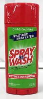 Spray N Wash Laundry Stain Remover Stick 3 Oz