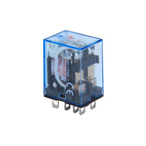 10A 240VAC / 10A 28V DC coil DPDT electromagnetic power relay LY2NJ 8