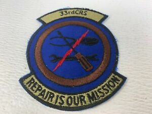 USAF-Air-Force-33rd-CRS-Component-Repair-Squadron-Patch-Repair-is-our-mission