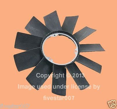 Engine Cooling Fan Blade without Clutch for BMW 530i 540i 740i 740iL 750iL 840ci