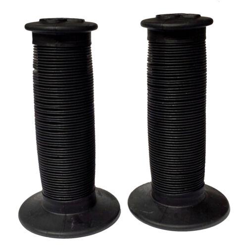 ODI Mushroom II Dual-Ply Re-issue BMX grips USA Made Black