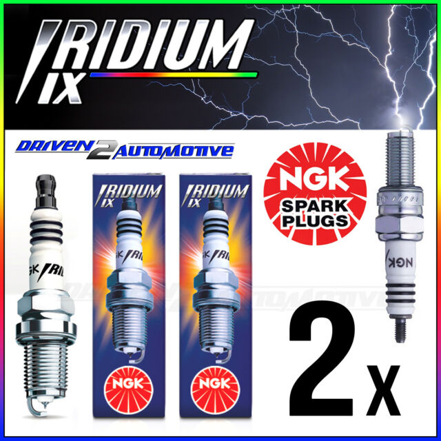 2 x Iridium IX Spark Plug DCPR9EIX 2316 APRILIA RSV Mille R 1000 SL 1000 Falco