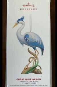 Hallmark-2019-The-Great-Blue-Heron-Beauty-of-Birds-15th-Keepsake-Ornament-Birds