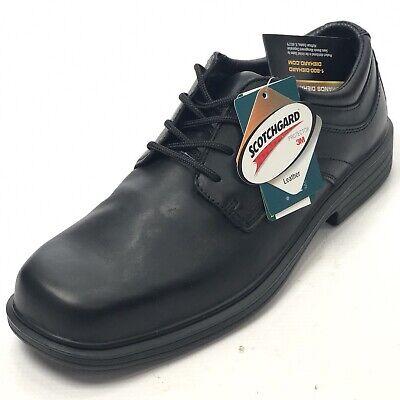 Shoes for Crews Men/'s Dex Slip Resistant Leather Plain Toe Oxford Work Shoes