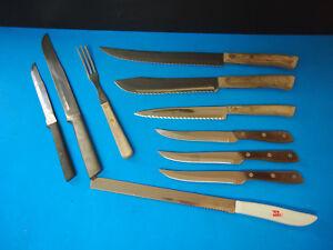 Vintage Flint Arrowhead Waverly Edge Stainless Usa Knife