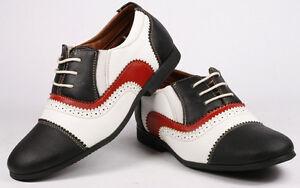 Kids Lace Up Cap Toe Oxford Dress Shoes