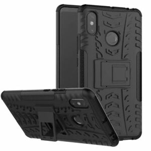 Pour-Xiaomi-Redmi-Note-6-Pro-Etui-Hybride-2-Pieces-Outdoor-Coloris-Noir