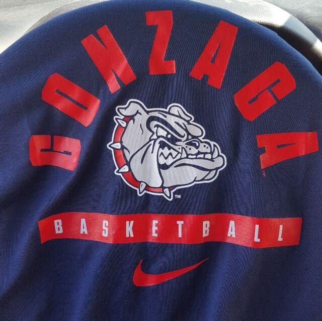 ee9ae8ad NWT Nike Gonzaga Bulldogs Dry Legend Long Sleeve Shooter Men's Large  37119XGO1