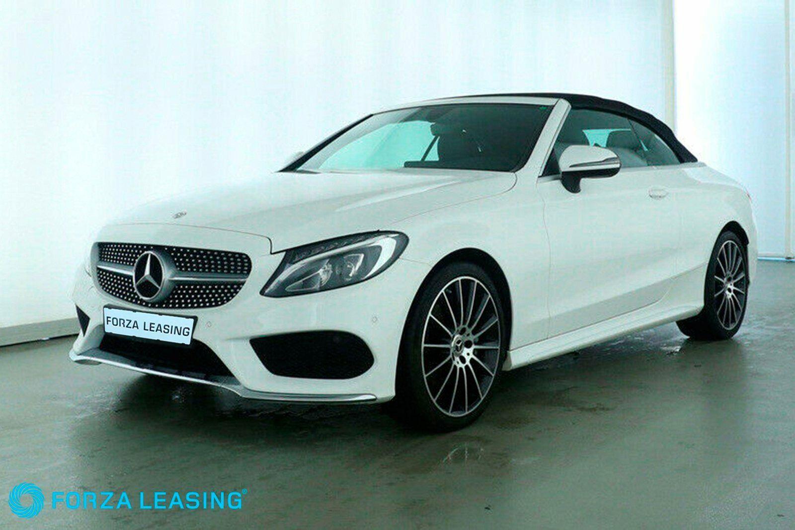 Mercedes C200 2,0 Cabriolet aut. 2d - 3.995 kr.