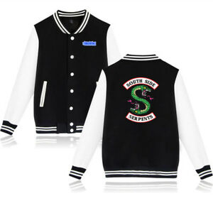 top-rated authentic latest trends of 2019 moderate price Details about Serpent of Riverdale Baseball Coat Southside Serpents Uniform  Mens Womens Jacket