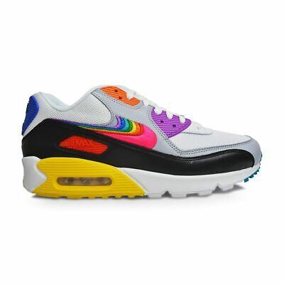Mens Nike Air Max 90 BETRUE Pride Edition - CJ5482100 - White / Multi-colour / B | eBay