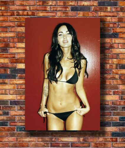 Hot Gift C1893 Art Megan Fox Custom Movie USA Hot Actress Star 24x36in Poster