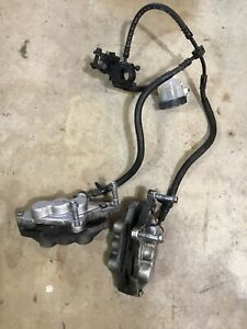 05-08-KAWASAKI-ZZR600-FRONT-MASTER-CYLINDER-AND-CALIPERS-WITH-BRAKE-PADS