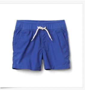 Baby Gap Boys 18-24 Months Blue Tropical Beach Palm Tree Shorts Romper Nwt