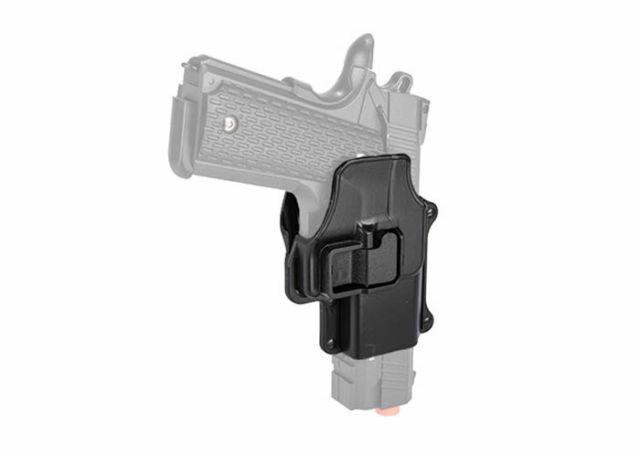 Lancer Tactical Hard Shell Low Profile Hand Gun Pistol Belt Holster Heavy Duty for sale online