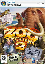 Zoo Tycoon 2: Extinct Animals Expansion Pack (PC-CD) BRAND NEW SEALED
