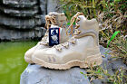Army Military Tactical Comfort Desert Leather Combat Boots Mens US Army Shoes