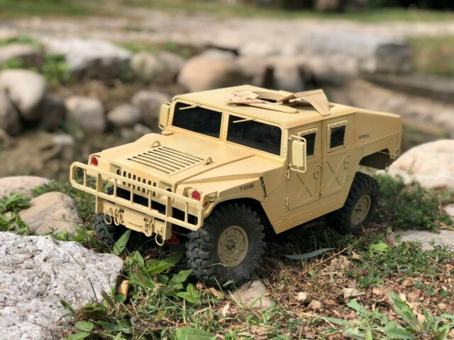 Military Vehicles For Sale >> All Metal 1 10 Rc Hummer Military Vehicles Body Shellaxial Axial