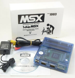 1Chip-MSX-Console-System-Computer-Boxed-MINT-Tested-JAPAN-Game-Ref-01055