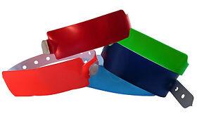100 Vinyl Kontrollbänder Vinyl wristbands Bracelets identification