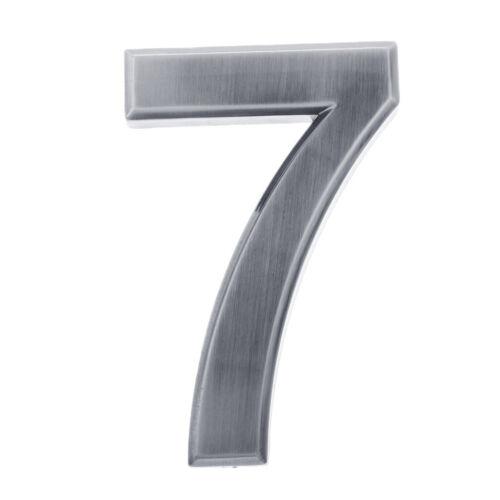Selbstklebende Türnummer Hausnummer Schilder Türschilder für Haustür,