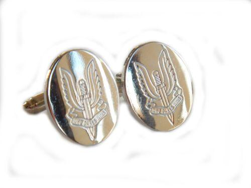 Set or Individual Lapel Badge Tie Clip SAS Regiment Cufflinks