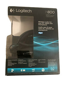 Logitech H800 Bluetooth Wireless Headset With Mic For Pc Tablets As Is Read Ebay
