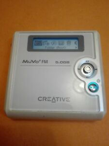 Image Is Loading Creative Nomad MuVo2 Fm 5GB Digital MP3 Player