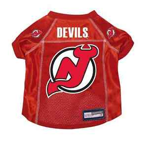 NEW-NJ-JERSEY-DEVILS-PET-DOG-PREMIUM-JERSEY-w-NAME-TAG-ALL-SIZES-LICENSED