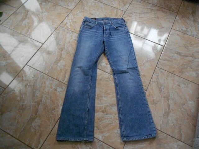 H7989 lee denver jeans w30 l32  azul fondos bien monocromo  garantizado