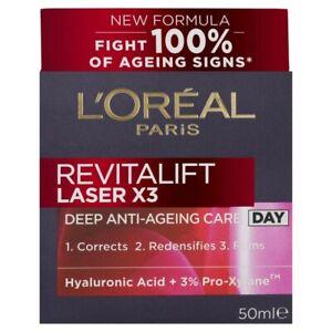 L'Oreal Revitalift Laser Antiaging Day Moisturiser 50mL