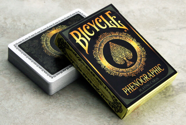 Bicycle Phenographic Playing Cards New Deck