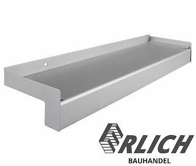 Fensterbank Putz Seitenteile 320 mm in Silber