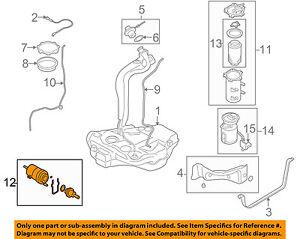 vw volkswagen oem 05-15 jetta-fuel filter 6q0201051j | ebay fuel filter diagram  ebay