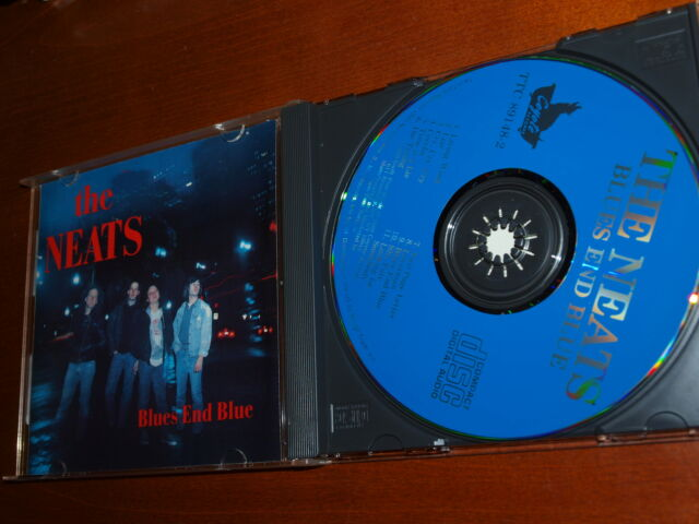 The Neats - Blues End Blue cd 1989 Eric Martin Phil Caruso Angel Cage COYOTE