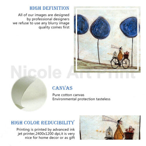Abstract Moon Phase Picture Canvas Poster Art Prints Wall Home Decor