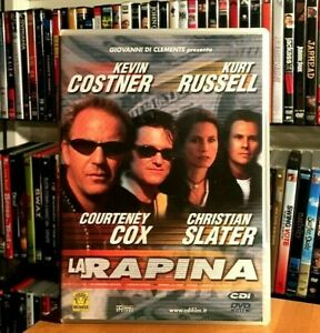 LA RAPINA (2001) Christian Slater KEVIN COSTNER KURT RUSSELL DVD COME NUOVO