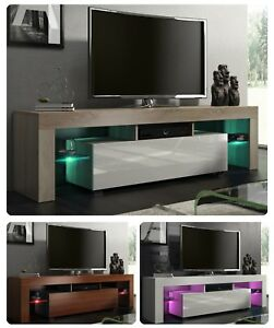 Mueble-TV-gabinete-de-TV-Soporte-de-la-TV-mas-de-150cm-160cm-alto-brillo